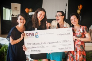 COPPeR Staff (L-R): Lila Pickus, Christina McGrath, Brett Carr and Angela Seals.