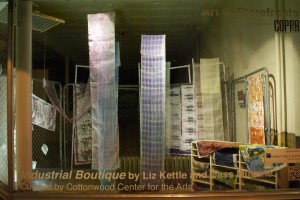 Industrial Boutique by Liz Kettle and Cass Mullane | Curated by Cottonwood Center for the Arts