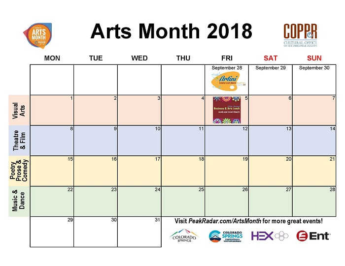 5 Months To Arts Month Cultural Office Of The Pikes Peak Region