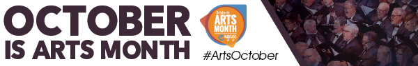 ArtsMonth 2019 Web Graphic 600 × 96 B