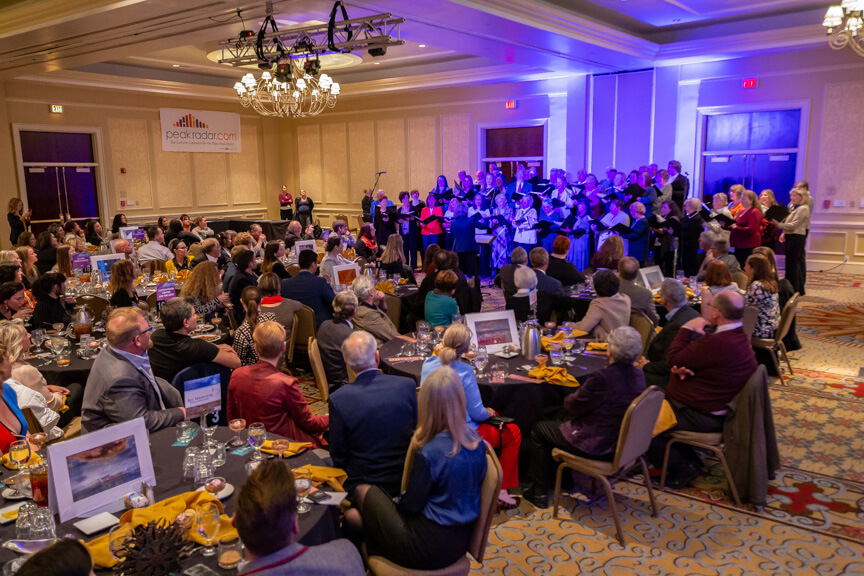 Colorado Springs Chorale performing, by Mike Pach